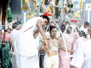 The Walk of Pain  during Thaipusam - a Hindu festival celebrated by Tamils.